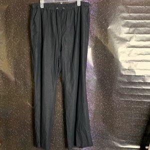 Ashley Stewart- Black Drawstring Pants size 16w